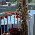 Fall Apartment Balcony Decorating Ideas