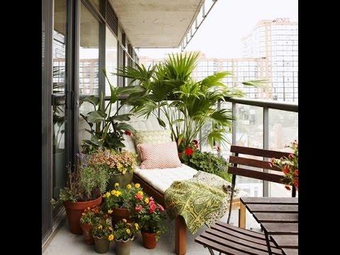 apartment balcony decorating ideas - YouTube