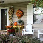 Fall Porch Farmhouse Style Ideas
