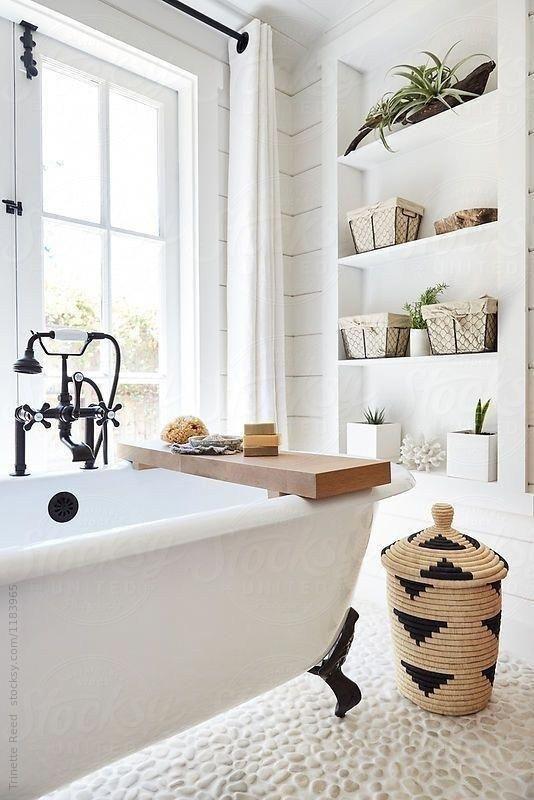 Stunning Modern Farmhouse Bathroom Decor Ideas 17