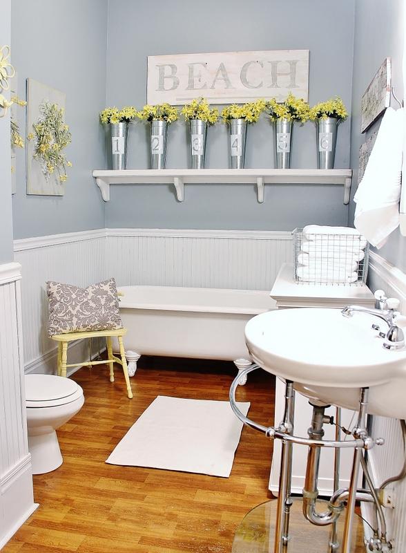 Farmhouse Bathroom Decor Ideas 5