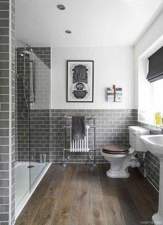 Best Modern Farmhouse Bathroom Wall Color Ideas 48   Baths