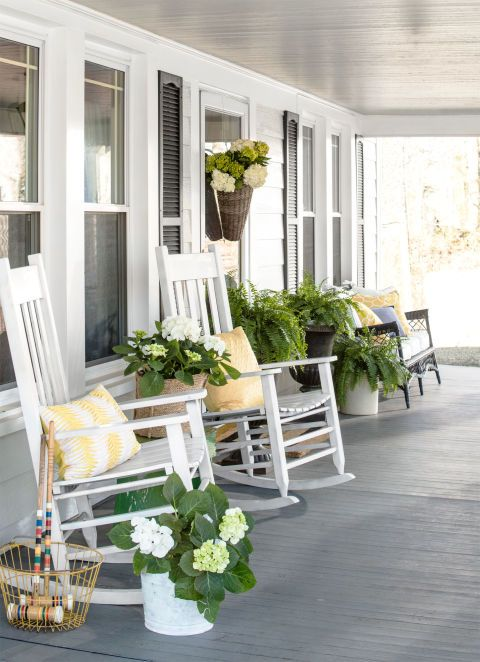 Farmhouse Front Porch Design Ideas
