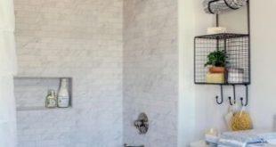 52 Best Farmhouse Shower Tiles Ideas | Bathroom | Guest bathroom