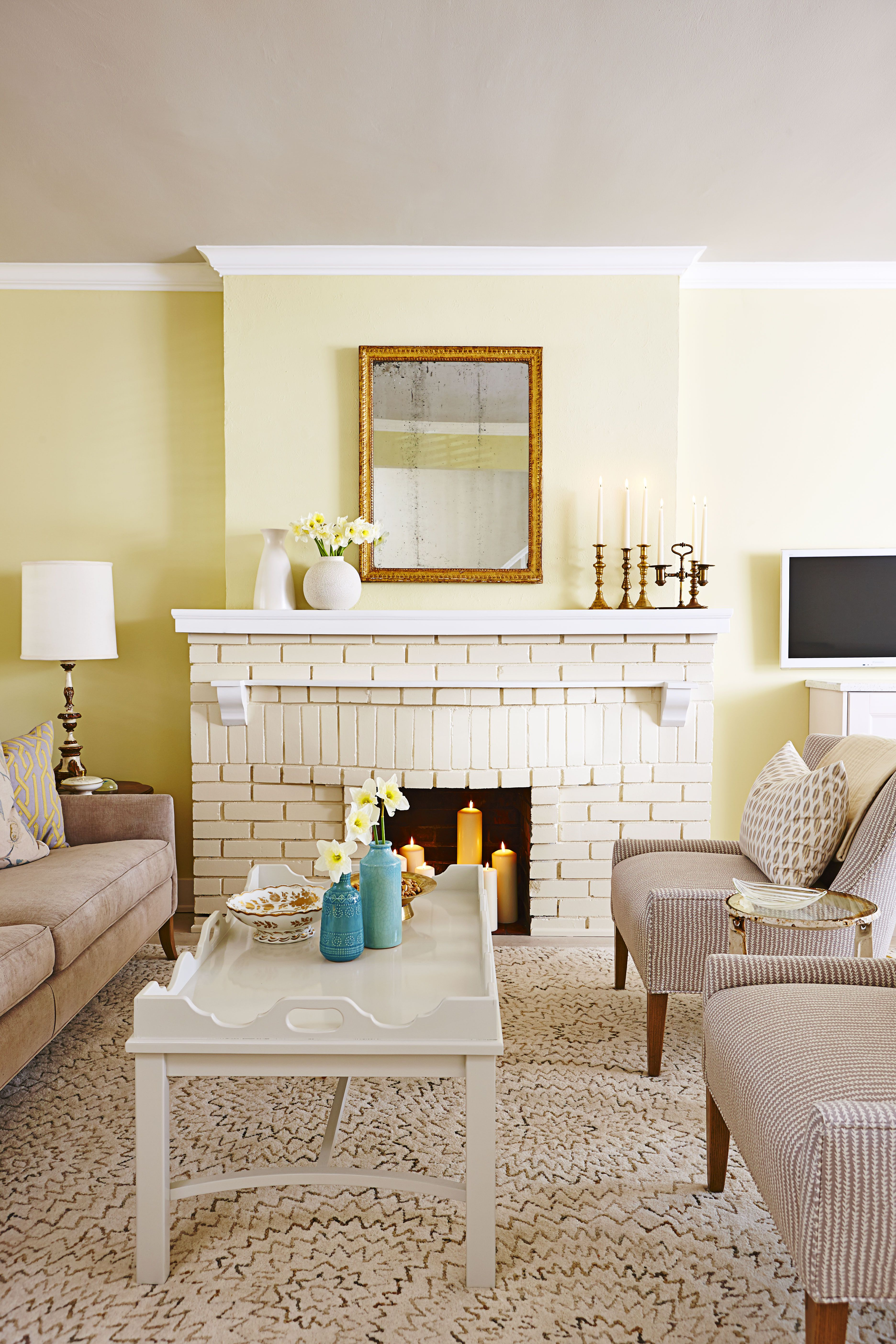 18 Fireplace Decorating Ideas - Best Fireplace Design Inspiration