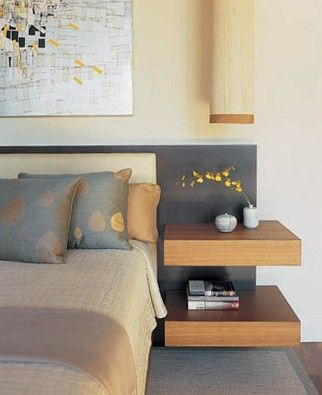 Floating Nightstand Designs For Bedroom