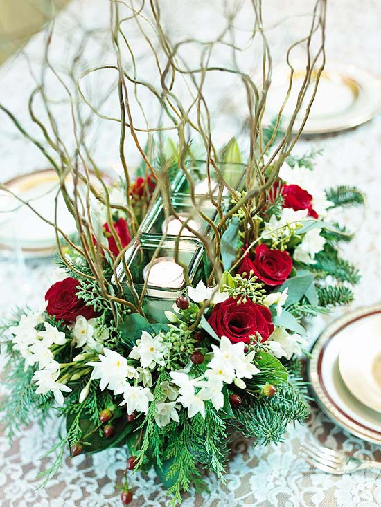 44 Flower Arrangements for Christmas