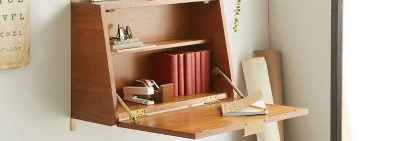 On the small room, you might want to think about folding table
