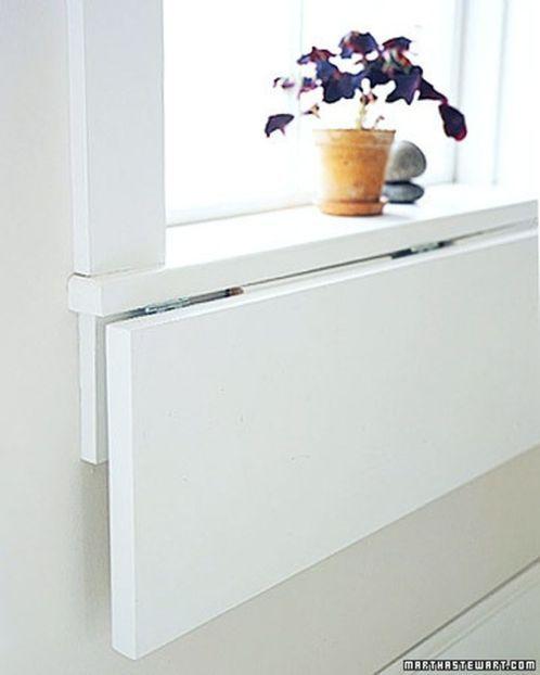 Folding Wall Table Ideas Saving Space