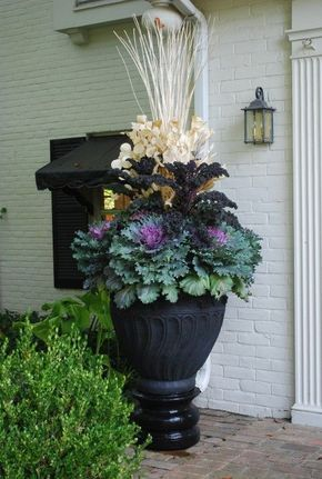 30+ Pretty Front Door Flower Pots For A Good First Impression | Best