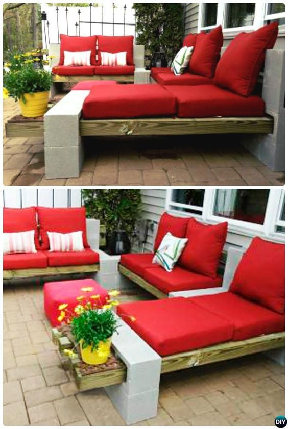 40 + Cool Ways to Use Cinder Blocks   Garden & Backyard DIY   Cinder