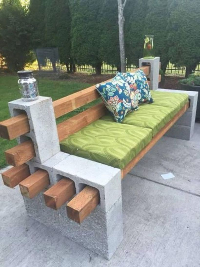 40 Quick, Creative and Functional Ways to use Cinder Blocks