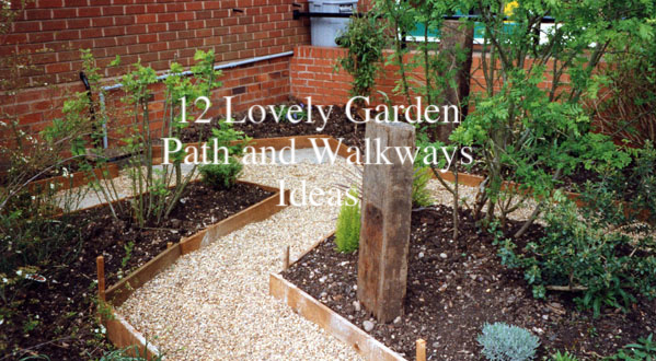 12 Lovely Garden Path and Walkways Ideas u2013 Home And Gardening Ideas
