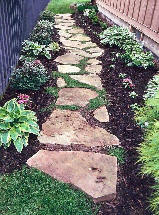 30+ Creative Pathway & Walkway Ideas For Your Garden Designs - Hative