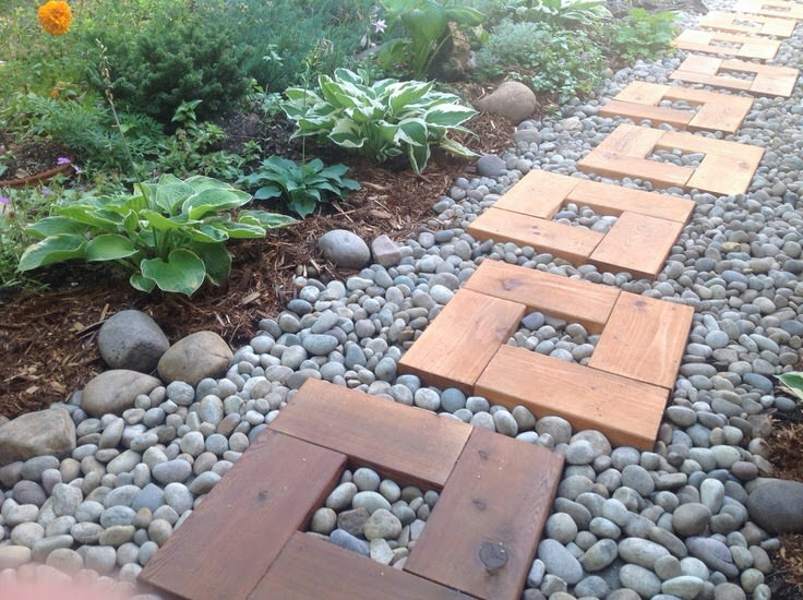 DIY Garden Paths And Backyard Walkway Ideas   The Garden Glove