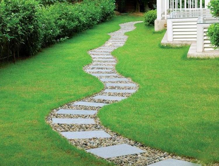 Garden Paths And Walkways Enjoyable 6 Path Amp Walkway Ideas - gnscl