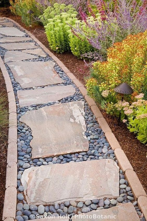 27 Easy and Cheap Walkway Ideas for Your Garden | Backyard ideas