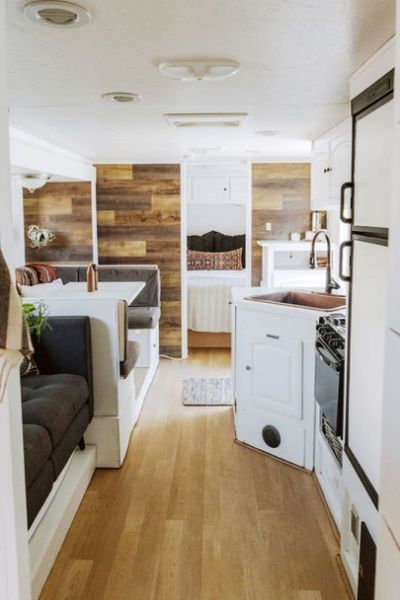 52 Wonderful Glamper Camper Trailer Remodel | RV and Camper Storage