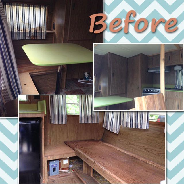 Camper Makeover Inspiration - 14-Year-Old Renovates Her Own Glamper