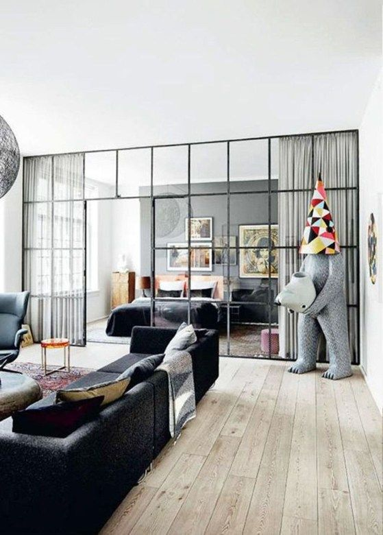 Glass Partition For Your Living Room 3