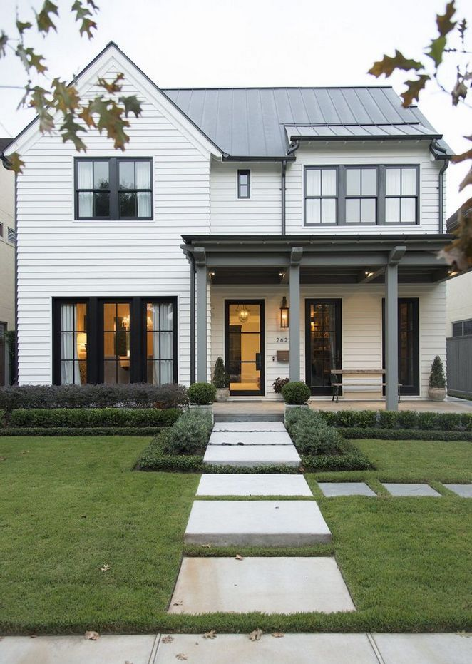 32+ Unanswered Issues With Modern Farmhouse Exterior Decor Ideas
