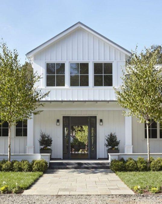 Best Farmhouse Exterior Design Ideas 26 | Houses in 2019 | Modern