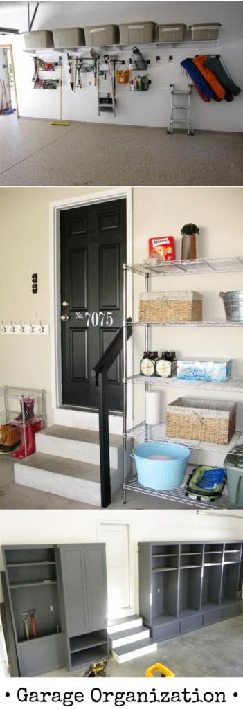 Garage Organization - 5 Quick and Cheap Garage Organizing Ideas