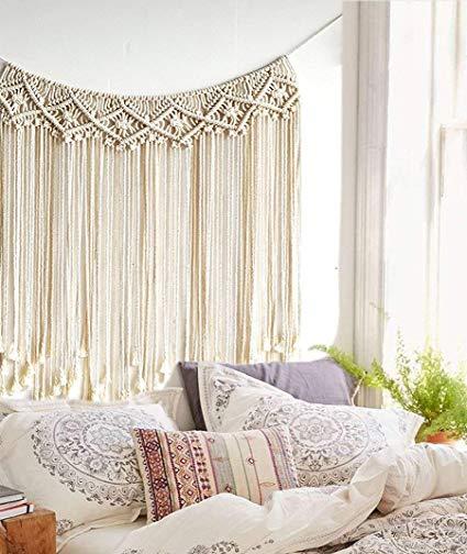 Amazon.com: Macrame Wall Hanging Boho Wedding Hanger Cotton Handmade
