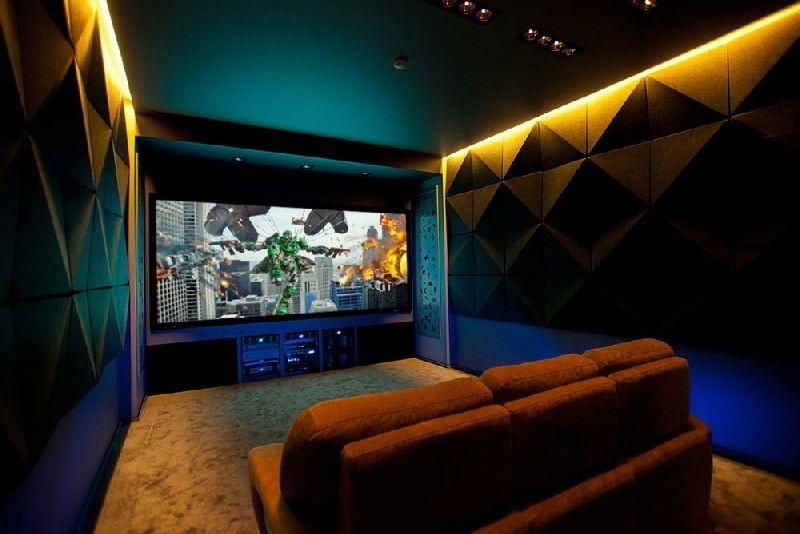 Vibrant Home Theater Designs : personal cinema
