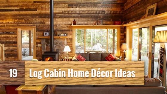 Home Interior Cabin Style Design Ideas