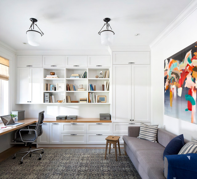 Newmarket | New Home - Beach Style - Home Office - Vancouver - by
