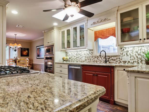 Backsplash Ideas for Granite Countertops + HGTV Pictures | HGTV