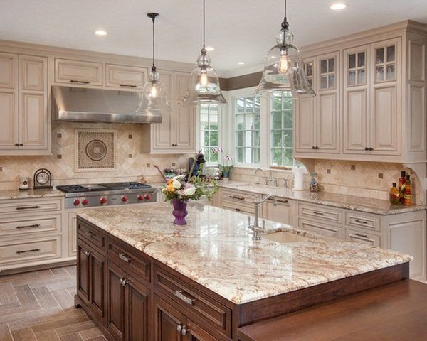 Island Countertop Ideas 2018 Granite Kitchen Countertops