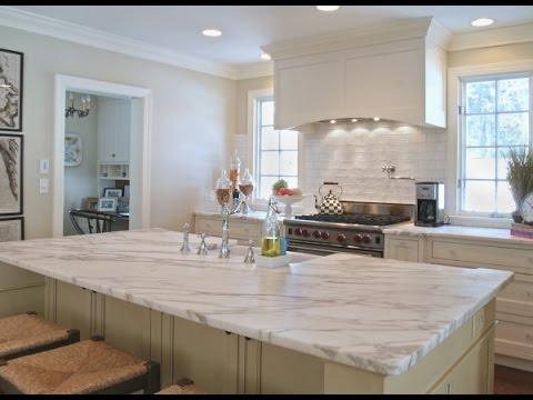 White Granite Kitchen Countertops Ideas - YouTube