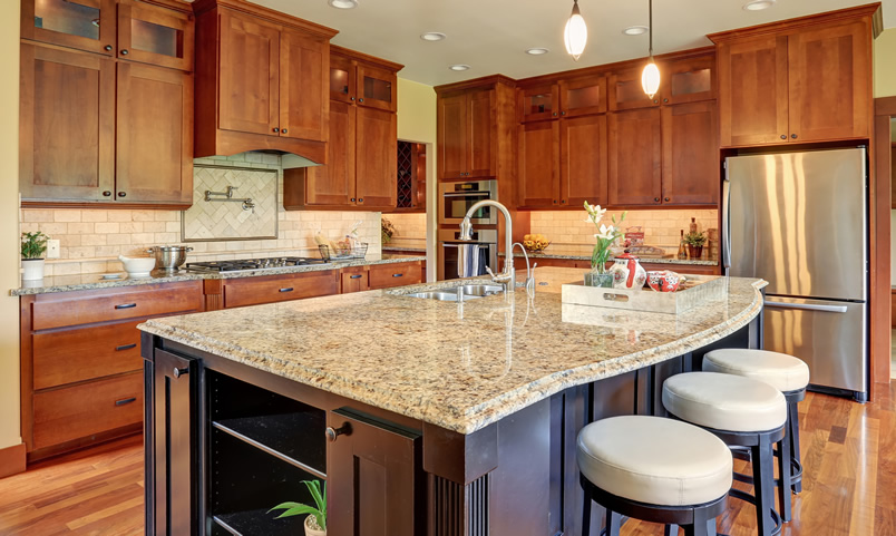 Types of Kitchen Countertops (Image Gallery) - Designing Idea
