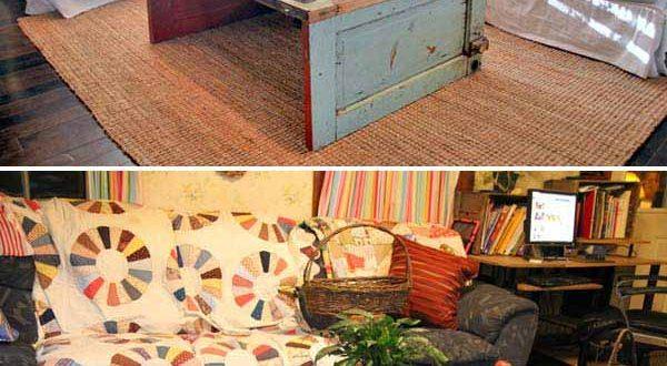 Ideas Of How To Reuse Old Doors Savillefurniture