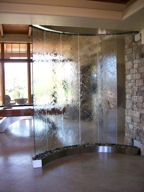 40 Amazing Indoor Wall Waterfall Designs Ideas House | Interior