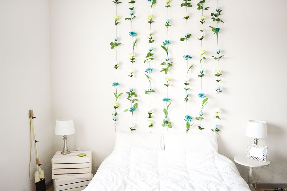 Inexpensive Diy Wall Art Ideas For Bedroom