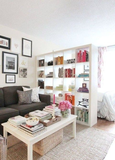 48 Inspiring Ideas Tiny Studio Apartment | Room inspo | Studio