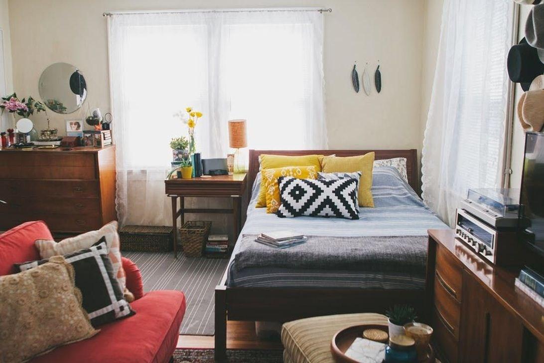 48 Inspiring Ideas Tiny Studio Apartment - TREND4HOMY