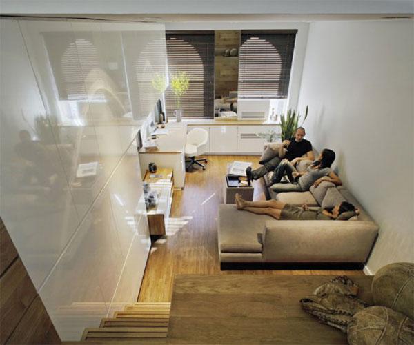 Studio Apartment Interior Design Living Big In A Tiny Inspiring