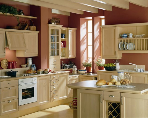 Kitchen Designs With Tones Of Vibrant Colors 4