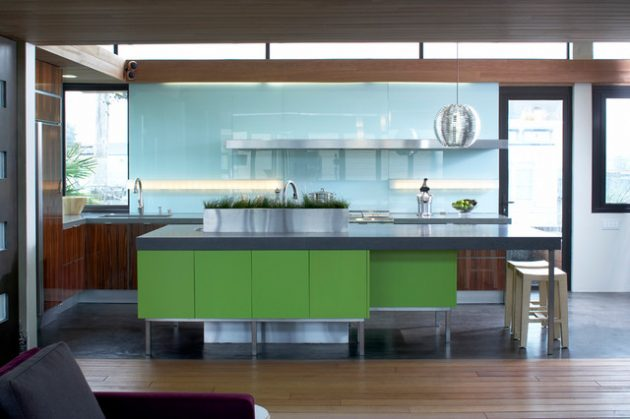 Kitchen Designs With Tones Of Vibrant Colors 7