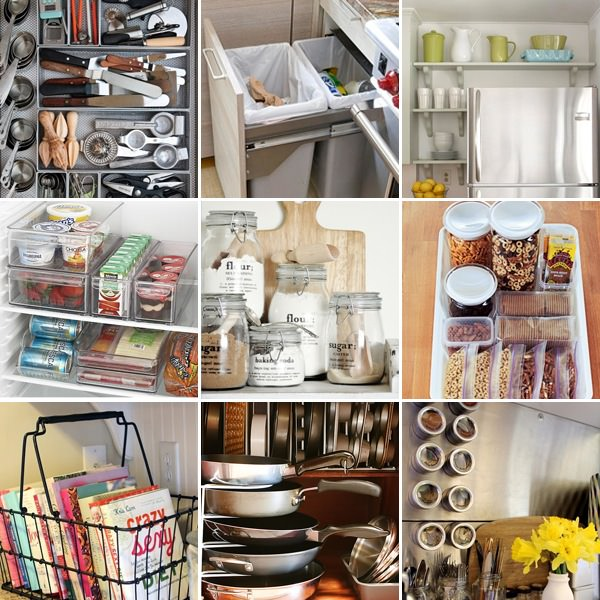 Simple Ideas to Organize Your Kitchen u2022 The Budget Decorator