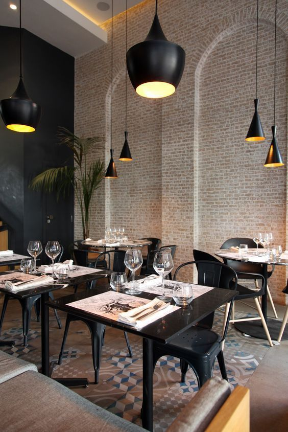 Pin by Madi Carter on Interior Design | Restaurant interior design