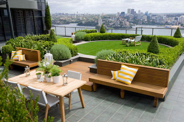 Lovely Terrace Gardens For A Modern Outdoor Space - Interior Vogue