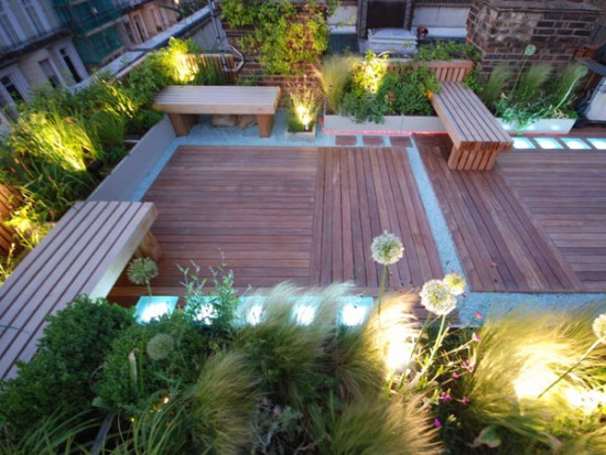 20 Beautiful and Inspiring Roof Top Garden Designs And Ideas u2013 The