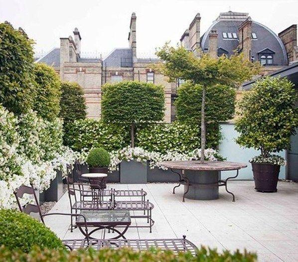 42 Lovely Garden Rooftop Ideas | Tuin - Garden, Rooftop en Ideas