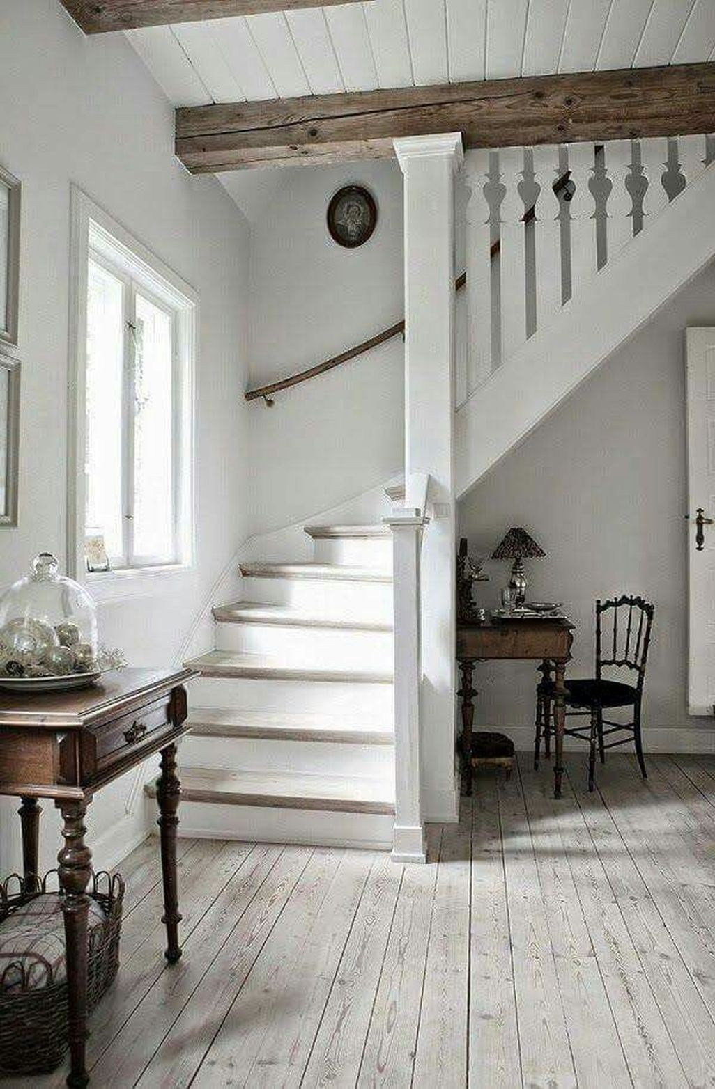 48 Lovely Rustic Hallway To Copy Now - TREND4HOMY
