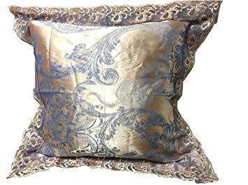 Amazon.com: Chesterch Prevoster Satin Embroidery Pillowcase 24